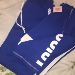 JUICY COUTURE FLEECE TRACKSUIT (TOP & BOTTOM)